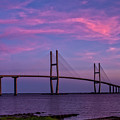 Sidney Lanier Bridge by Cliff Middlebrook