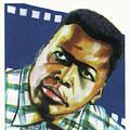 Sidney Poitier by Emmanuel Baliyanga