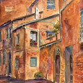 Siena Alley by Betsy Aguirre