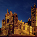 Siena Italy Cathedral by Joan Carroll