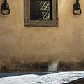 Siena Window With Shadow  by John McGraw