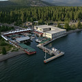 Sierra Boat Aerial by Steven Lapkin