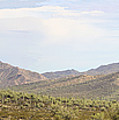 Sierra Estrella Mountains Panorama by Sharon Broucek