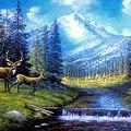 Sierra Mountain Meadow   by Elaine Bawden