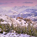 Sierra Nevada At Sunset by Guido Montanes Castillo