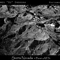 Sierra Nevada's Planer Earth Bw by James BO  Insogna