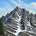 Sierra Peaks by Frank Wilson