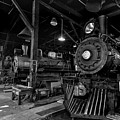 Sierra Railway Locomotives No. 3, No. 2, And No. 34 by Jim Thompson