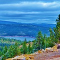 Sierras Before Snow Storm by Cherie Cokeley