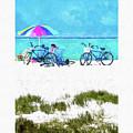 Siesta Key Beach Bikes by Susan Molnar