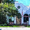 Siesta Key Beach Cottage by Susan Molnar