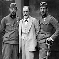 Sigmund Freud 1856-1939, With His Sons by Everett