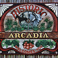 Sign - Welcome To Arcadia by HH Photography of Florida