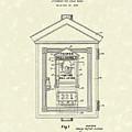 Signal Box 1924 Patent Art by Prior Art Design