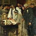 Signing The Marriage Register by James Charles