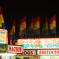 Signs Of Food At The Carnival by James BO Insogna