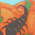 Signs Of Zodiac - Scorpio by Rae Chichilnitsky