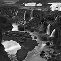 Sigoldufoss Waterfalls Iceland 1294 by Bob Neiman