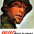Who Wants To Know - Silence Means Security by War Is Hell Store