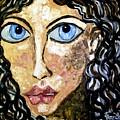 Silent Blue  by Fareeha Khawaja