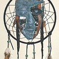 Silent Weeping Native Lament by Vallee Johnson