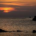 Silhouetted North Pier  by Deborah Klubertanz