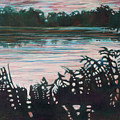 Silhouetted Serenity by Joan Maresh Hansen