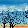 Silhouettes Against The Sky by Brenda Owen