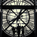Silhouettes At Musee D'orsay by Tommy Lyles
