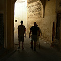 Silhouettes In Fez by Fay Lawrence