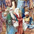 Silk Bazaar by Munir Alawi