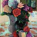 Silk Flowers by Marlene Book