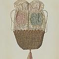 Silk-straw Reticule by Dolores Haupt