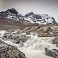 Silky Melt Water Of Athabasca Glacier by Pierre Leclerc Photography