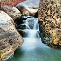 Silky Waters Of Jemez Springs by Jeff Swan