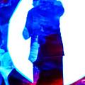 Sillouette In Blue by Jeff Kurtz