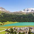 Silvaplana In Canton Graubunden, Switzerland by Didier Marti