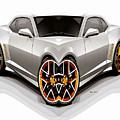 Silver Car 008 by Rafael Salazar