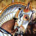 Silver Carousel Horse II by Garland Johnson