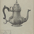 Silver Coffee Pot by American 20th Century