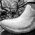 Silver Cowboy Boot by Elisabeth Lucas