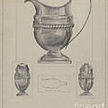 Silver Creamer by Francis Law Durand