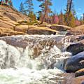 Silver Creek Rapid by Josephine Buschman