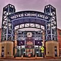 Silver Cross Field by Fred Hahn