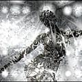 Silver Deity by Kiki Art