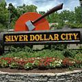Silver Dollar City Sign by Kathy Carlson