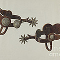 Silver Dollar Spurs by Cecil Smith