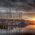 Silver Harbor Skies by Karen McKenzie McAdoo