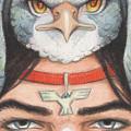 Silver Hawk Warrior by Amy S Turner
