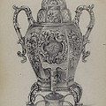Silver Hot Water Urn by Nicholas Zupa